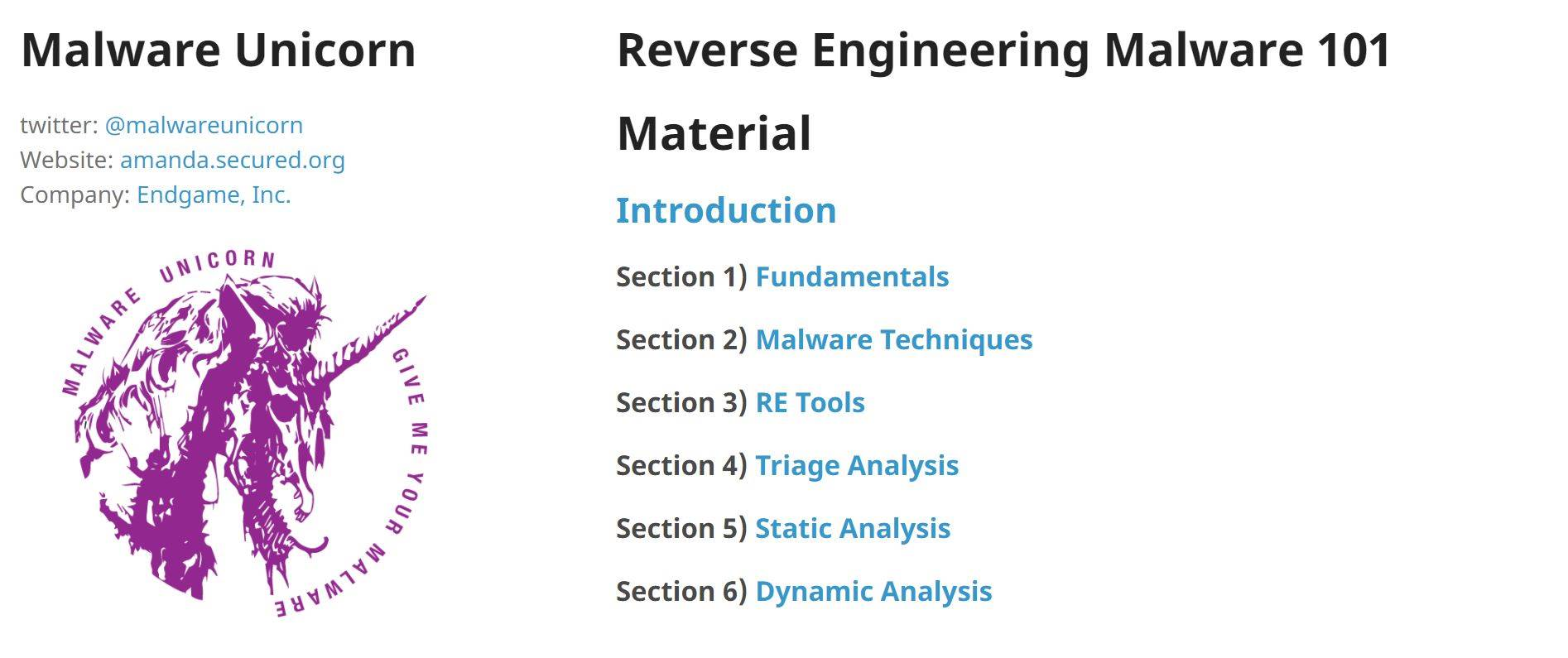 reverse malware Practical malware analysis:  the labs are especially useful to students in teaching the methods to reverse engineer, analyze and understand malicious software.