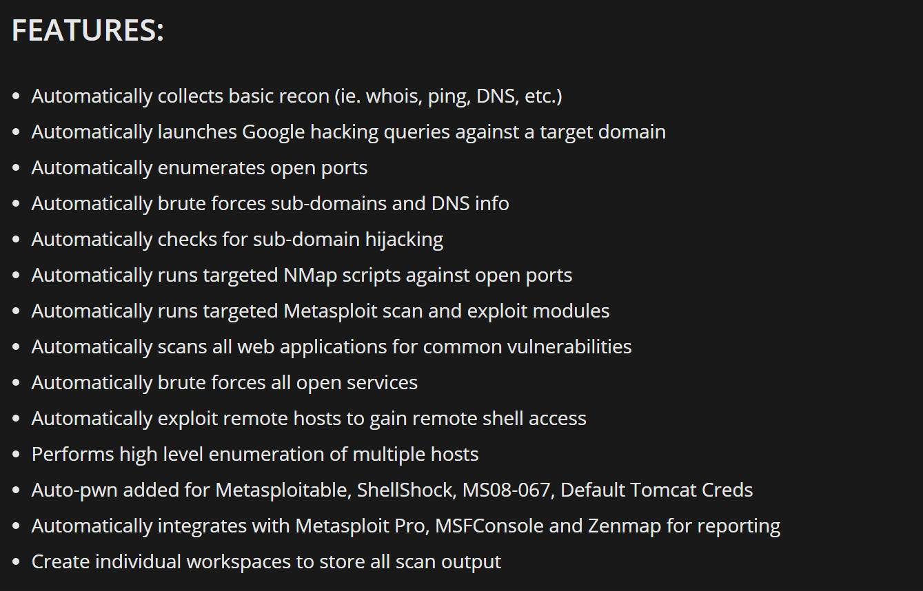 Sn1per v2 5: Automated Pentest Recon Scanner – Penetration