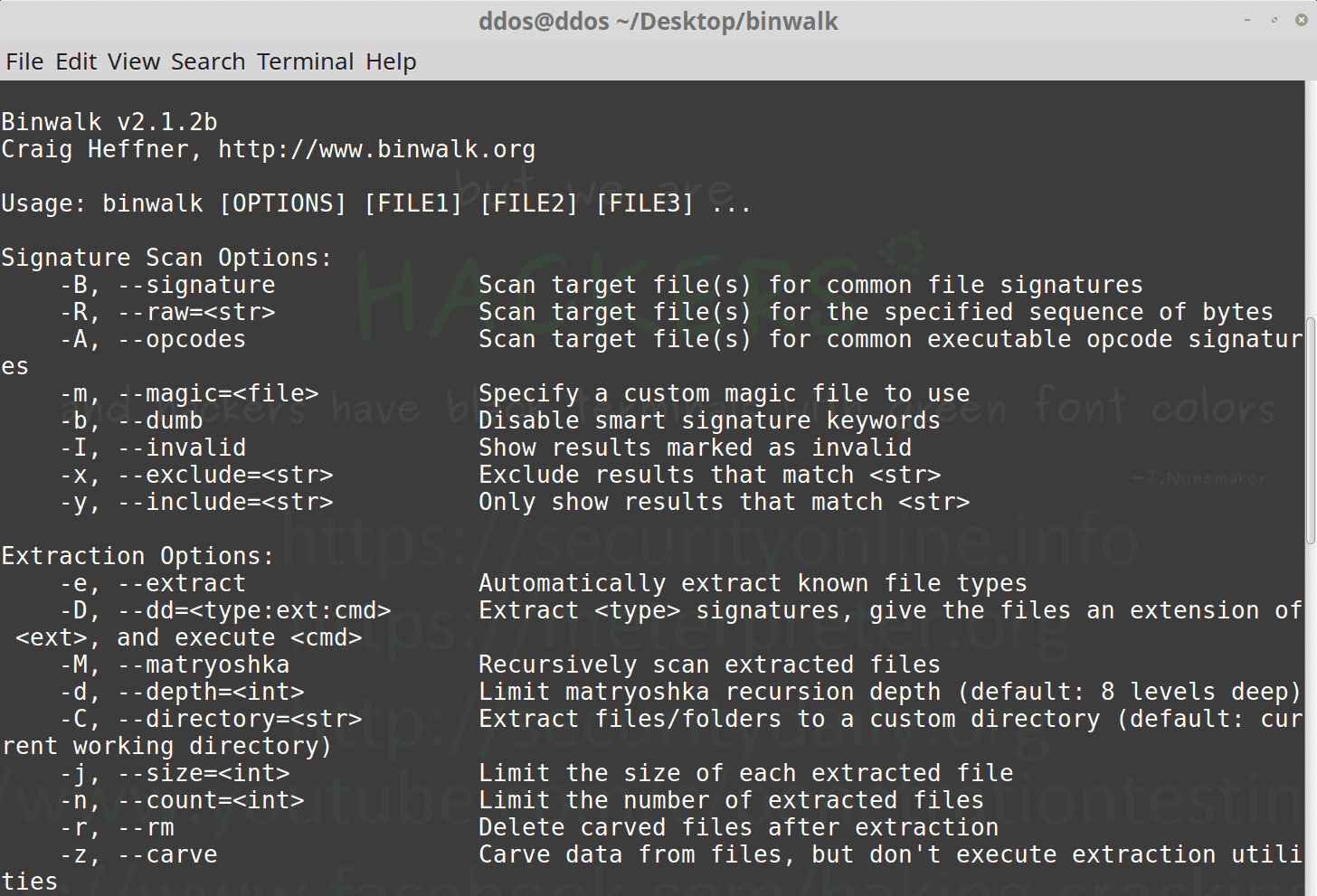 Introduction to Binwalk - Firmware Analysis Tool