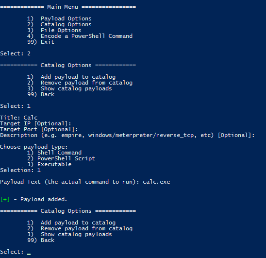 luckystrike: PowerShell based utility for the creation of malicious Office macro documents • Penetration Testing