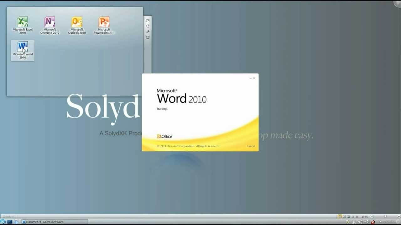 SolydXK 201807 releases: Debian-based desktop distribution