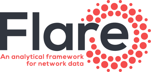 flare: An analytical framework for network traffic and behavioral