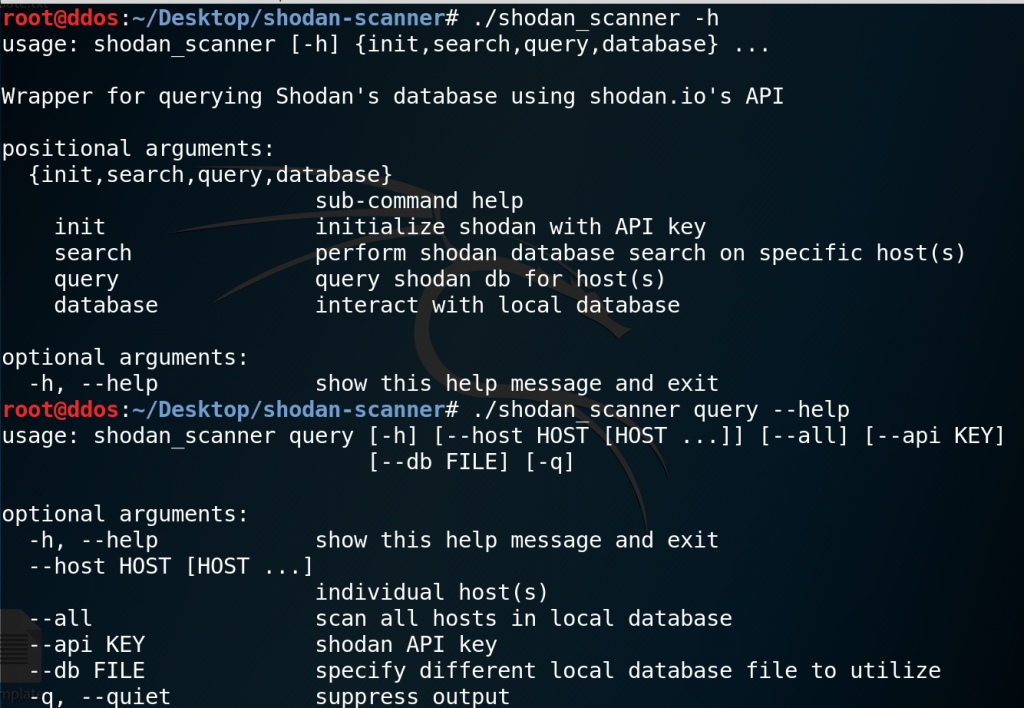 shodan-scanner: scanner of the