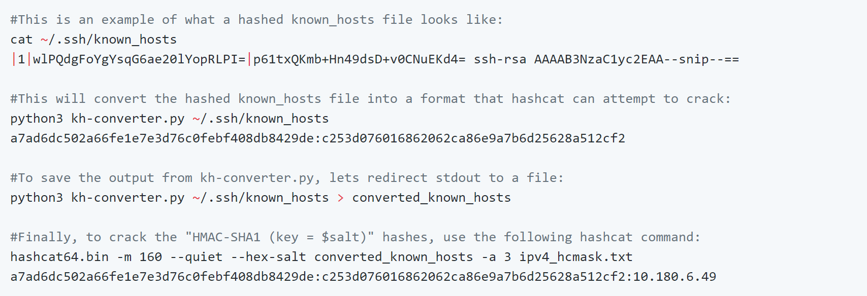known_hosts-hashcat