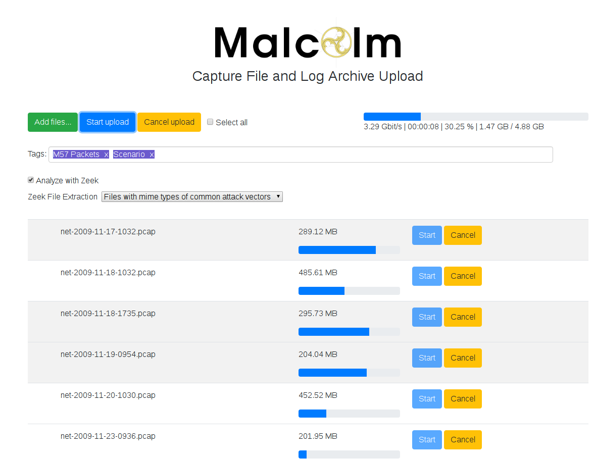 Malcolm v1 3 1 releases: powerful, easily deployable network